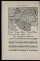 Karte III: Nationalitätenkarte von Österreich-Ungarn