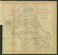 Uebersichtskarte zum Feldzuge von 1814 in Frankreich