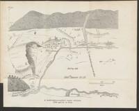 A bodrogkereszturi csata vazlata (1849 april 22- és 23-án)