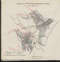 Gefecht der VI. Inft. Truppen Division bei Visoka