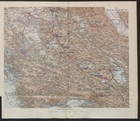Übersicht des Feldzuges 34/33 v. Chr.
